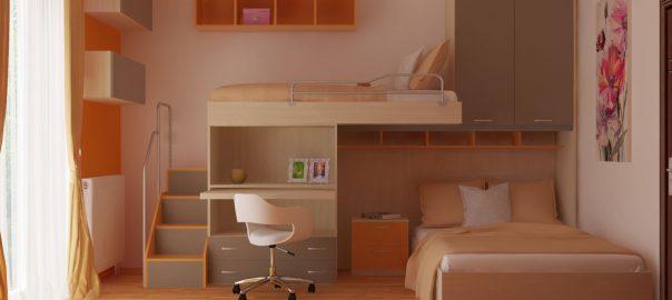 Návrh a vizualizácia detskej izby OMNIA