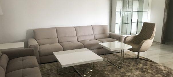 Moderný dizajnový interiér 4-izbového luxusného bytu