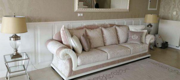 Luxusná sedačka na mieru EMPORIO priamo u klienta