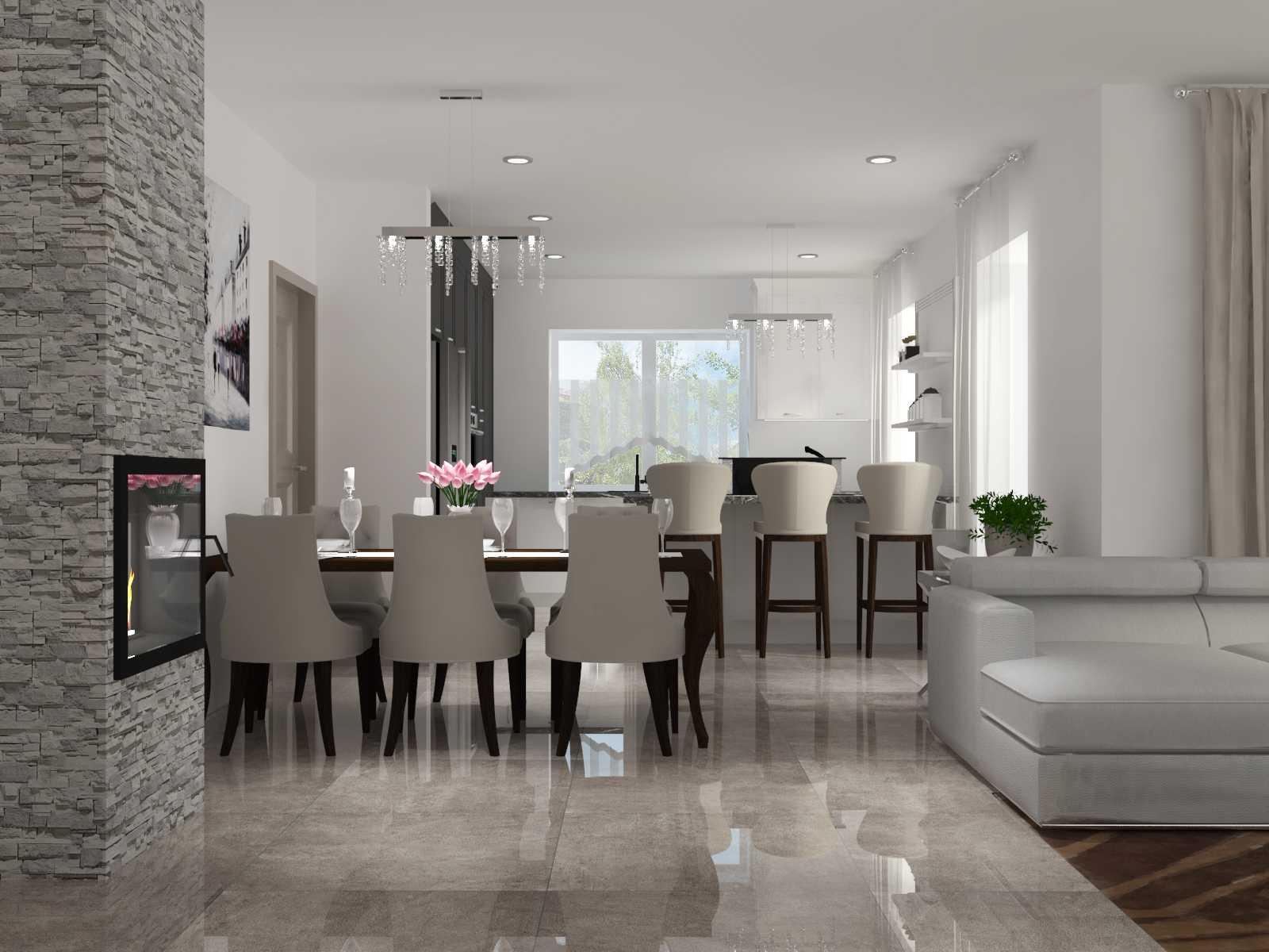Návrh a realistická 3D vizualizácia moderného interiéru v rodinnom dome
