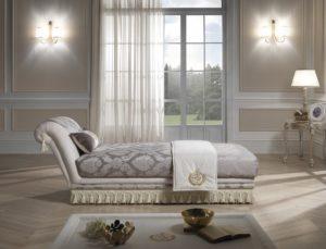 Luxusné ležadlo/dormeus PRINCIPE - možnosť objednať ležadlo s úložným priestorom / š.220 hl.92 v.80 cm/