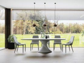 Dizajnový moderný jedálenský stôl BIBIANA.