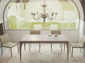 Ručne vyrábaný masívny jedálenský stôl BRENETA