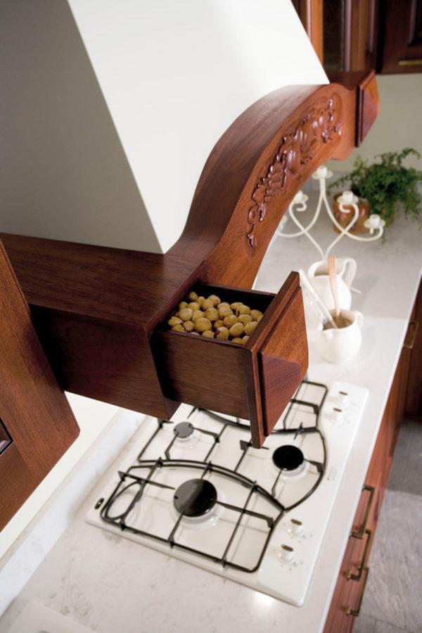 Úložný systém kuchyne CANOVA. Variabilný úložný priestor kuchyne CANOVA.