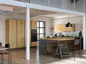 moderná kuchyňa, vyznačujúca sa čistým, elegantným a nezameniteľným dizajnom.