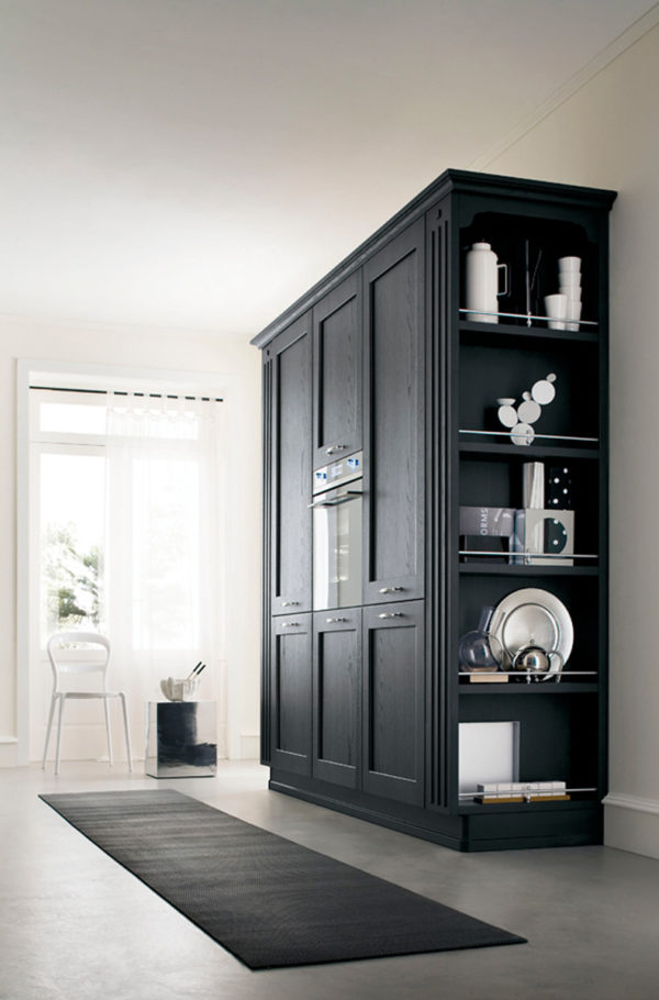 resp. obývaciu časť v rovnakom dizajne