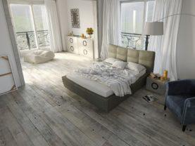 Dizajnové klenuté podlahové svietidlo KALELIA.