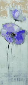Ručne maľovaný obraz kvetov