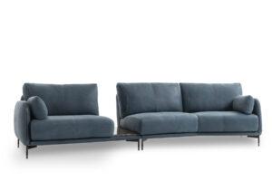 Moderná dizajnová sedačka GHISOLFA