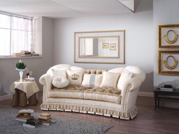 IMPERIALE dvoj-miestny diván / š.210 hl.105 v.106 cm /