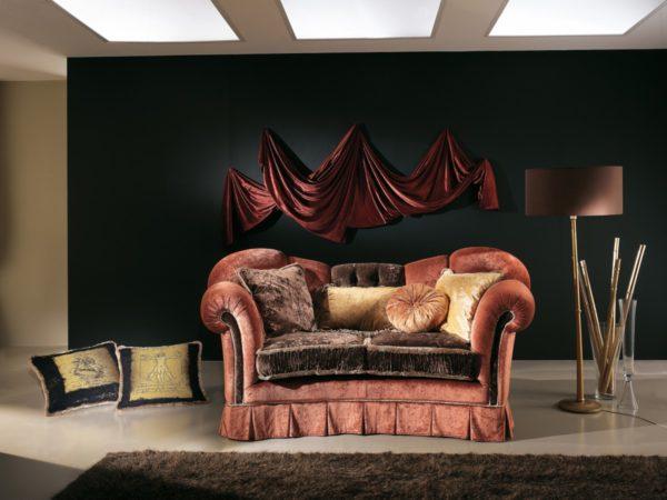 IMPERIALE troj-miestny diván / š.259 hl.105 v.106 cm /