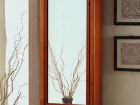 Šatníková skriňa BERNA art. 2093 / š.72 hl.41 v.187 cm/ - so zrkadlom