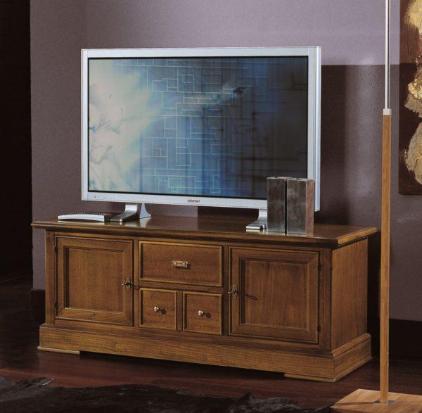 TV skrinka BERNA art. 2087 / š.130 hl.40 v.52 cm/