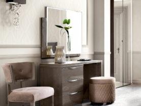 Štýlový stolík/toaletný stolík PLATINUM