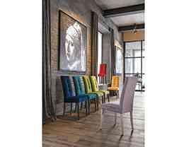 Model stoličky ZURIGO vo svojich farebných kombináciách