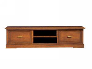 TV skrinka BERNA art. 2140 / š.219 hl.55 v.55 cm/ - so 4 zásuvkami