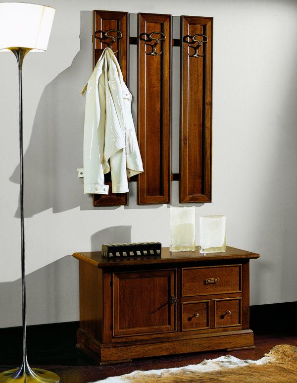Vešiakový panel BERNA art. 2088 / š.72 v.106 cm/