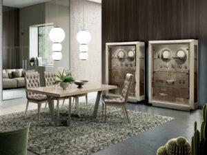 Moderná jedáleň ELITE SABBIA v krémovej farbe
