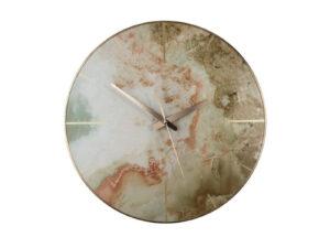 Dizajnové hodiny s mramorovým dekórom