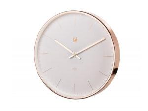 Biele moderné hodiny