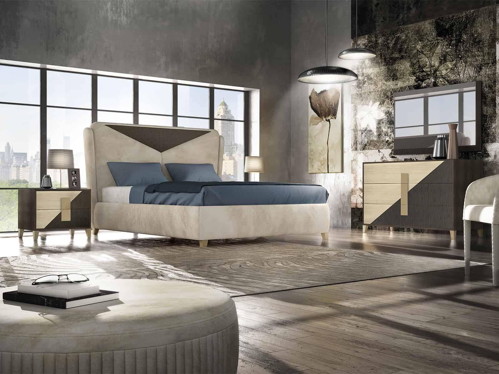 Spálňový moderný nábytok