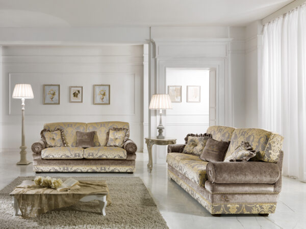 Klasická exkluzívna talianska sedačka