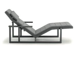Dizajnové záhradné ležadlo