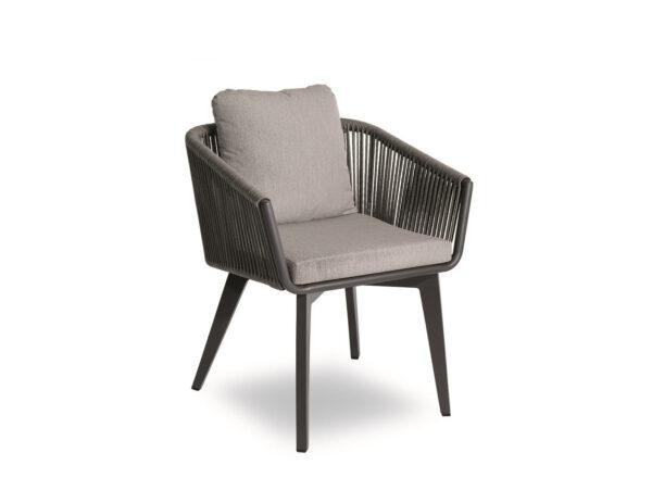 exteriérová jedálenská stolička