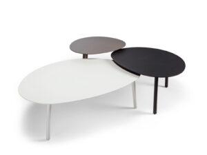 modulárny dizajnový stolík do exteriéru
