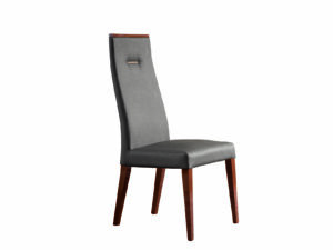 Jedálenská stolička v prevedení ekokože BELLAGIO