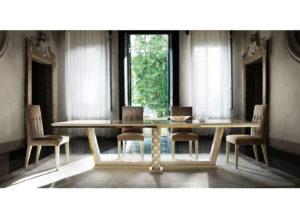 Jedálenský stôl pevný SIPARIO