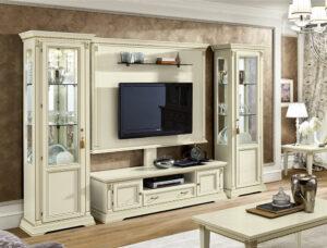 rustikálna obývačka