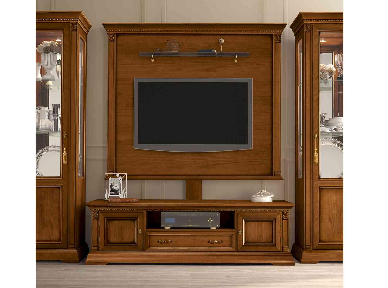 drevená TV skrinka