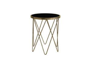 BELARIA kruhový príručný stolík priem. 50 v. 60 cm