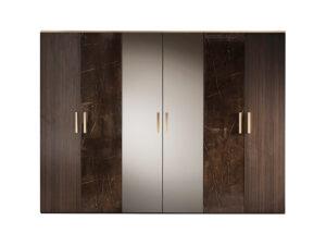 Šatníková skriňa 6-dverová ESSENZA