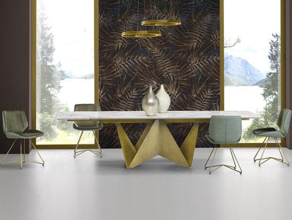 Dizajnová jedálenská stolička MEG-X