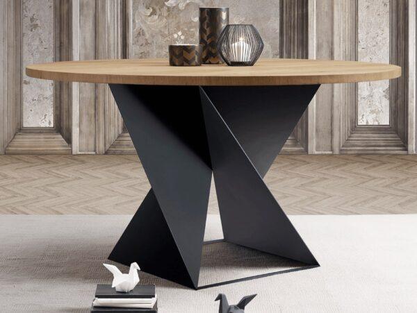 Okrúhly jedálenský stôl CUBE TM1410