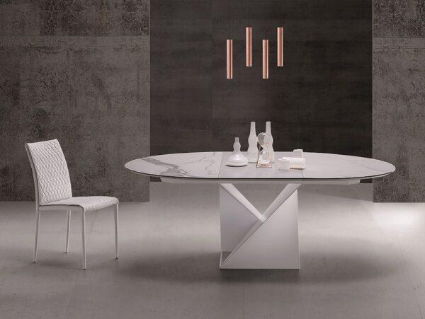 Okrúhly jedálenský stôl CUBE-A TM1411